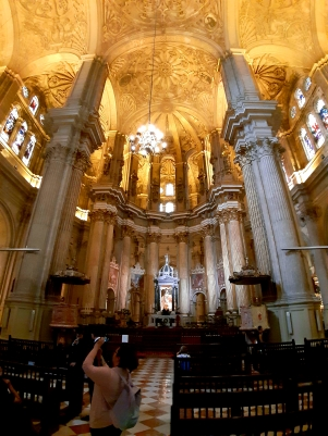 Towards the Main Altar (C) Two Queens Travel Blog 2019
